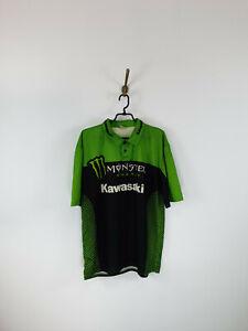 Kawasaki Monster Energy Polo Jersey Men Size: L