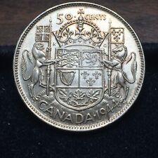 1944 Silver 50 Cents Half Dollar | AU | George VI