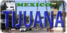 Tijuana Mexico Novelty Car License Plate P02