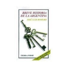 Breve Historia de la Argentina (Paperback or Softback)