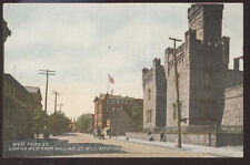 1910s POSTCARD WILLIAMSPORT PA/PENNSYLVANIA WEST THIRD STREET W FROM WILLIAM ST