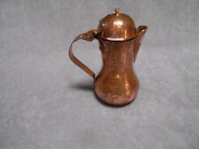 Vintage European COPPER COFFEE POT  numbered 011