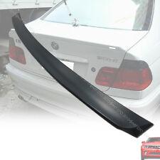 STOCK IN LA! Unpainted 99-05 BMW E46 4DR Rear Trunk Sedan Spoiler Wing ABS §
