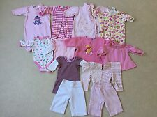Pre-loved Baby Girl's Winter Bundle, Size 000, Good Used & Cleaned Condition !