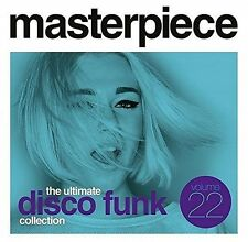 Vol. 22-Masterpiece The Ultimate Disco Funk Collec - Masterpiec (2016, CD NIEUW)
