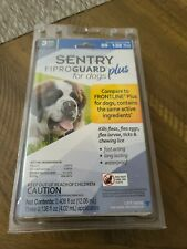 SENTRY Fiproguard Plus Flea & Tick Prevention for Dogs 89-132 lbs 3 Month Supply