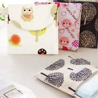 Lady Portable Sanitary napkin bag Fashion Beauty Zipper Travel Bag