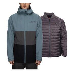 686 Smarty 3 in 1 Form Jacket - Men's - Medium / Goblin Blue Colorblock