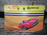 Vintage 1968 Hot Wheels Redline Adjustable 12 Car Collector's Case (Very Rare)