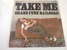 "GRAND FUNK RAILROAD ""TAKE ME"" ORIG GER 1975 VG+/VG++"