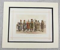 1882 Antico Stampa Eskimo Inuit Sami Scandinavo Indigeno Persone Etnico Race