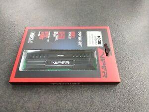Patriot Viper 3 Black Mamba DIMM Kit 16 GB DDR3-1600 DDR3 RAM Speicher