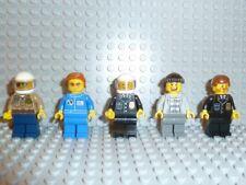 Lego ® Town Classic 5x minifiguras para la ciudad City 6399 6394 6390 personajes f667
