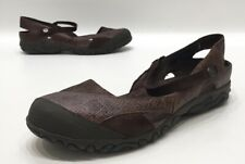 Teva Comfortable Womens Brown Suede/Leather Pattern Outdoor Sandals Size 10.5
