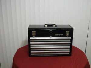 Craftsman 4-Drawer Portable Chest - Black Wrinkle