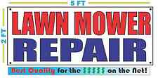 LAWN MOWER REPAIR Banner Sign NEW Larger Size Best Quality for The $$$$