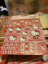 Hello Kitty Milk & Apples Multi Stickers 3 Sheets In 1 Kawaii Sanrio 2008