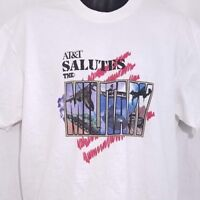 ATT Salutes The Military T Shirt Vintage 90s AT&T Troops Made In USA Size Large
