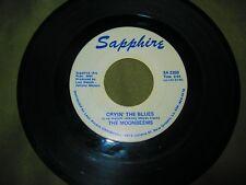 Moonbeems - Cryin' the Blues / Hawketts - Mardi Gras Mambo - Sapphire 45 RPM