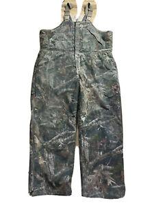 RedHead Realtree Silent Hide Camouflage Men's Bib Overalls Size XXL