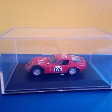 Modellino Die Cast Best Model Alfa Romeo TZ2 Targa Florio 1966 Rosso 1/43