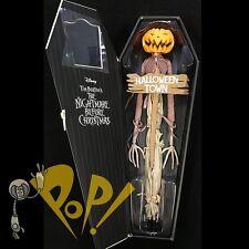 "NBX Nightmare Before Christmas PUMPKIN KING JACK 16"" Coffin Doll DIAMOND SELECT!"