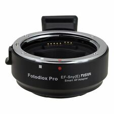 FOTODIOX objectivement Adaptateur Canon EOS pour sony Alpha NEX automatisée fonction