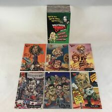 HOLLYWOOD ZOMBIES Topps 2007 Complete Parody Card Set Like Wacky Packages GPK