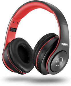Bluetooth Headphones Wireless,Tuinyo Over Ear Stereo Wireless Headset 35H with