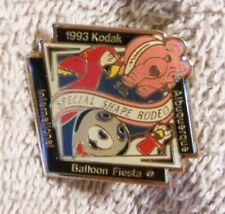 1993 5TH SPECIAL SHAPE RODEO KODAK ALBUQUERQUE INT'L BALLOON FIESTA BALLOON PIN