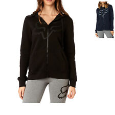 Fox Racing Women's Certain Zip Fleece Hoodie Sweatshirt Hooded Jumper Tops S M L