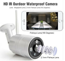 2.0 Megapixel Panorama View 180 Degree Wifi PoE Audio Onvif IP IR Bullet Camera