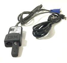 1.5M 39M2899 IBM KVM to USB Conversion Cable 39M2909 VGA RJ-45 W/RJ45
