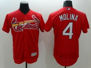 Men's St. Louis Cardinals Yadier Molina Player Flex Jersey