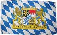 5x8 ft Bavaria Bavarian Freistaat Friestaat Flag Rough Tex Knitted 5'x8' banner