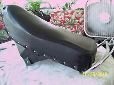 HARLEY 1962 HUMMER PACER ORIGINAL TANDEM SEAT w/ GRAB RAIL!!