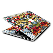 Skin Wrap for MacBook Pro 15 inch Retina  Aliens Cartoon Collage Sticker