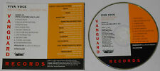 Viva Voce  The Future Will Destroy You  2011 U.S. promo cd  -Rare!