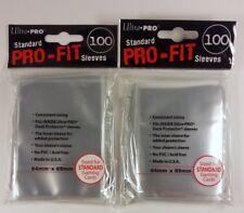 200 Ultra Pro Standard Pro-Fit Sleeves