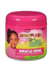 African Pride Dream Kids Olive Miracle Cream Anti Breakage Hair Strengthener170g