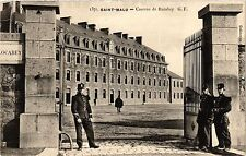 CPA MILITAIRE Saint-Malo, Caserne de Rocabey (316808)