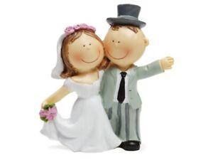 Hochzeit Brautpaar Deko Figur Hochzeitstorte Hochzeit Tischdeko  8,5cm