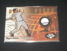 Magglio Ordonez 2002 Chicago Certified Authentic Baseball Game Used Jersey Card