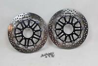 MV Agusta Brutale 800 B3 2014 Front Brake Rotors Rotor & Bolts Discs Disc