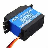 For RC Robot Parts 55 rpm SPT5525LV-360 25KG Digital Servo 360 Degree Rotation