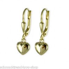 Paar Ohrhänger Ohrringe 333 Gold 21 x 5 mm Echt Goldschmuck Damen Kinder Schmuck