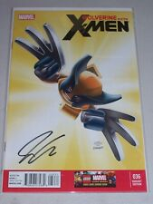 Wolverine & The X-Men #36! (2011) 1/25 LEGO Variant! Signed-Jason Aaron! NM! COA