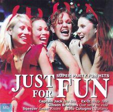 JUST for FUN + CD + Super Party Fun Hits + 16 Songs für die gelungene Fete + NEU