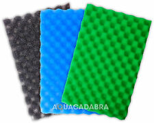 POND FILTER FOAM MEDIA SET - FINE MEDIUM COARSE 17x11 25x18 SPONGE GARDEN FISH