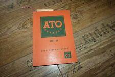Katalog Kameras/Schmalfilm/Lampen uvm ATO Berater 1954/55 ORG Nachschlagewerk